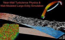 We develop methods to predict near-wall turbulence fluctuations to enable large-eddy simulation of complex engineering geometries.